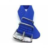 Curea piele Kvarnsjo model Monza 20mm bleumarin